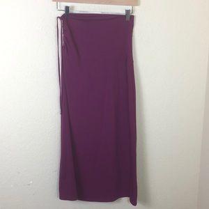Athleta Azalea drawstring side skirt Small Tall